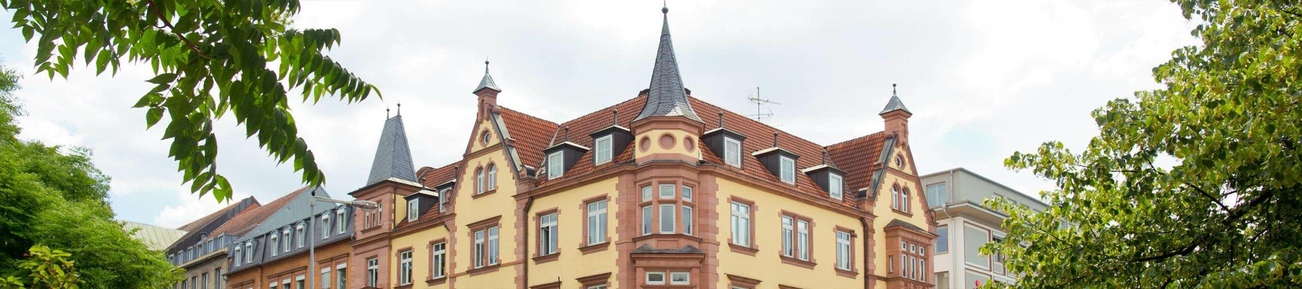 Aussenansicht Kanzleisitz Aschaffenburg